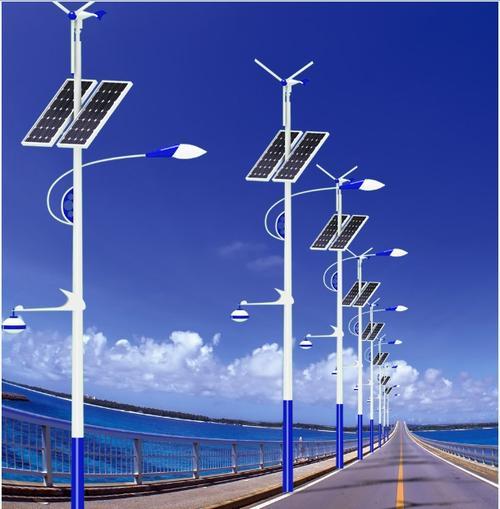 河南省太阳能灯厂家生产的风光互补太阳能路灯