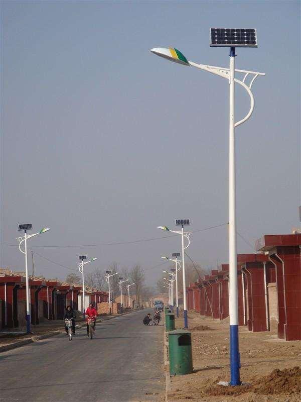 6米农村道路鱼骨臂太阳能路灯