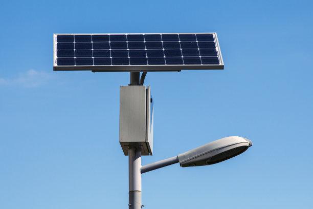 河南省郑州市的安装的普通太阳能路灯