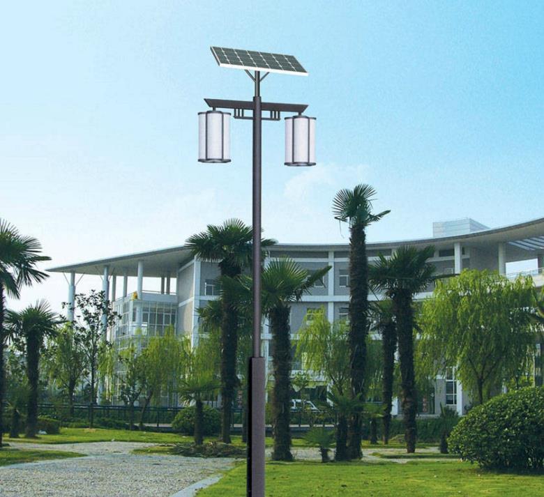河南省郑州市某科技园区太阳能庭院灯
