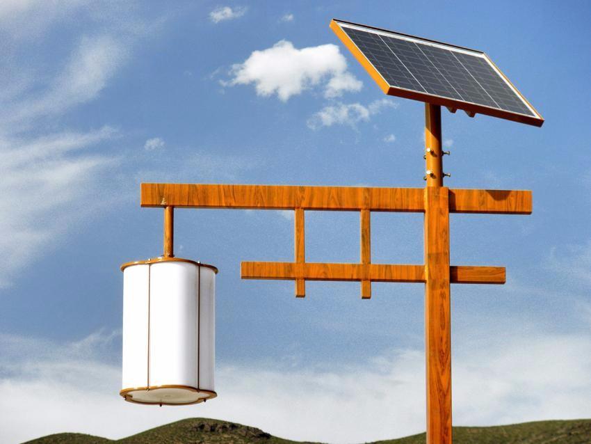 景区特色的太阳能庭院灯