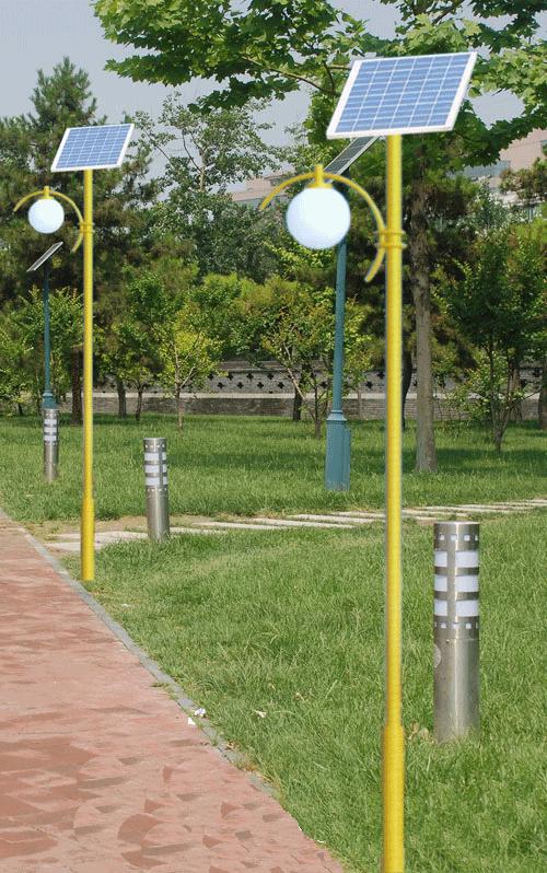 河南太阳能路灯款式中的新款太阳能庭院灯