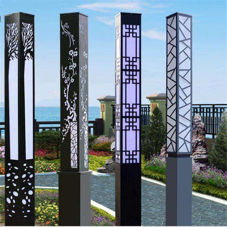 河南太阳能景观灯产品中常见的几款灯型