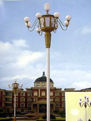 河南中华灯常规款搭配特色建筑实拍图