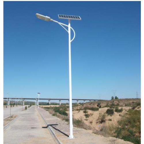 河南省郑州市新郑市周边村镇安装的太阳能路灯